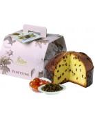 Italienisches Gebäck Panettone Loison Romantica