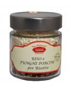 Riso Carnaroli con Funghi Porcini 160g - Riseria Ferron